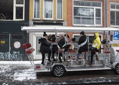 Beer bike Amsterdam